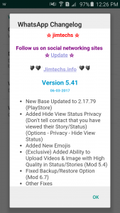 WhatsApp plus JiMODs v5.41 Jimtechs Editions