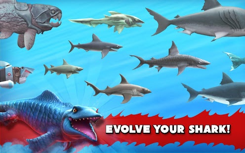 Hungry Shark Evolution 4.9.0 Mod APK