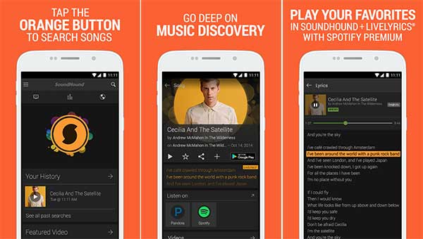 SoundHound Music Search 8.0.1 Full APK