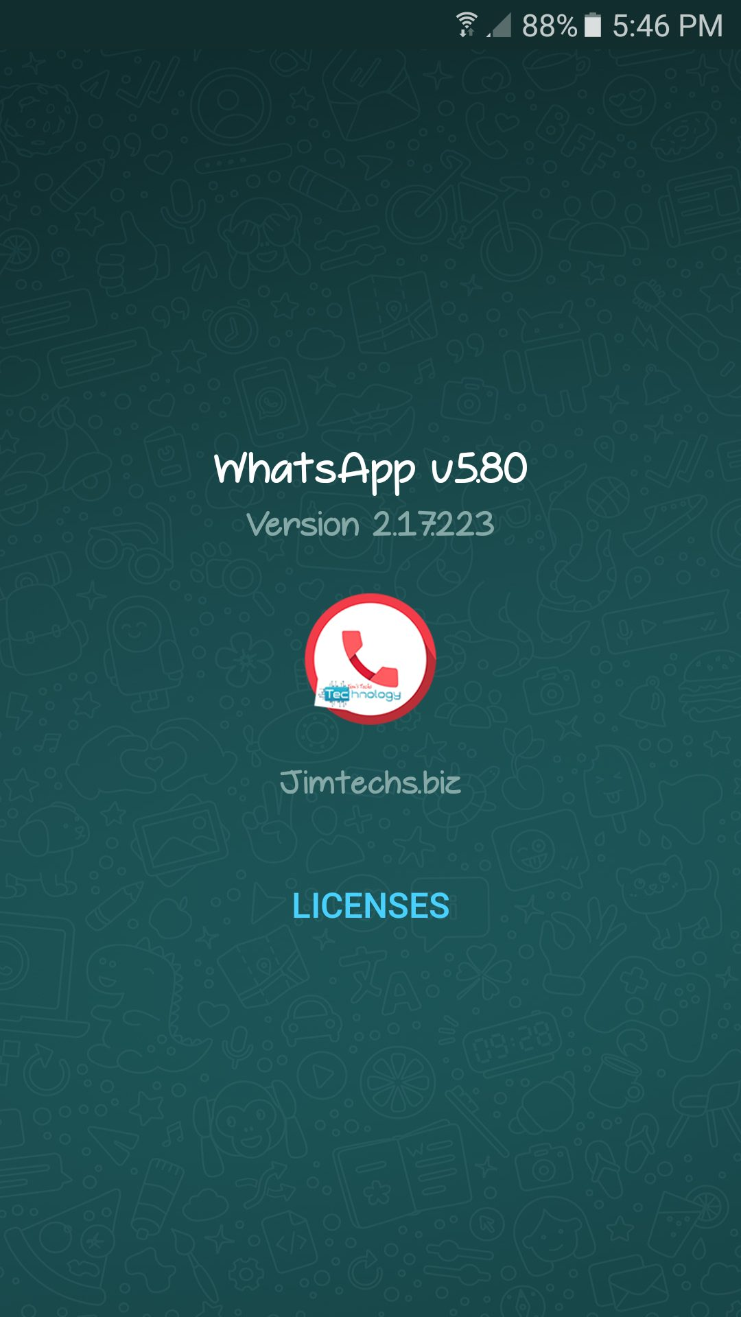 WhatsApp plus JiMODs v5.80 Jimtechs Editions