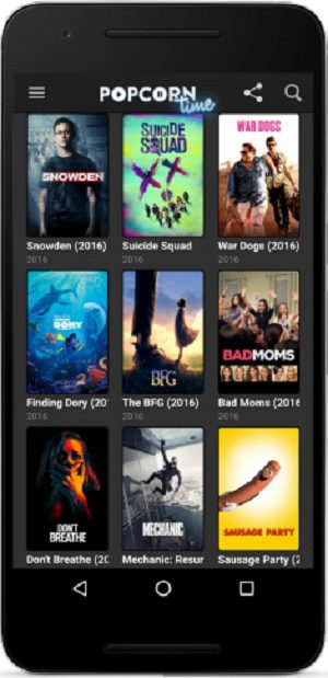 Popcorn Time v3.0.0 build 111 Full APK