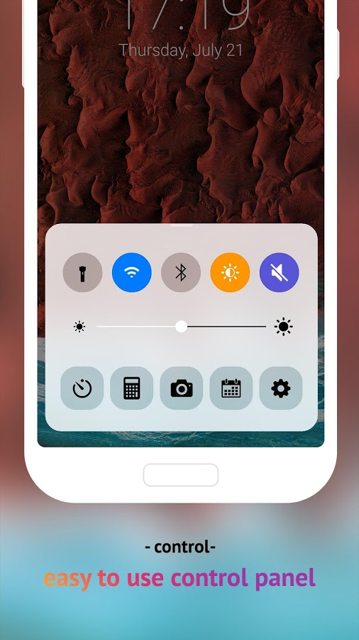 Lock Screen IOS 10 v2.0 Full APK