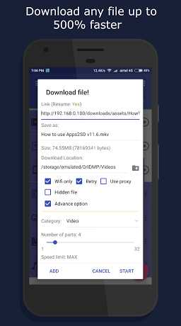 IDM+ Download Audio Video Torrent 5.7 APK