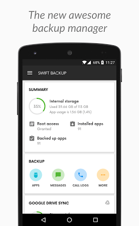 Swift Backup Premium 1.2.7 Full APK