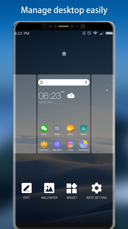 Note 8 Launcher theme Prime v2.1 Full APK
