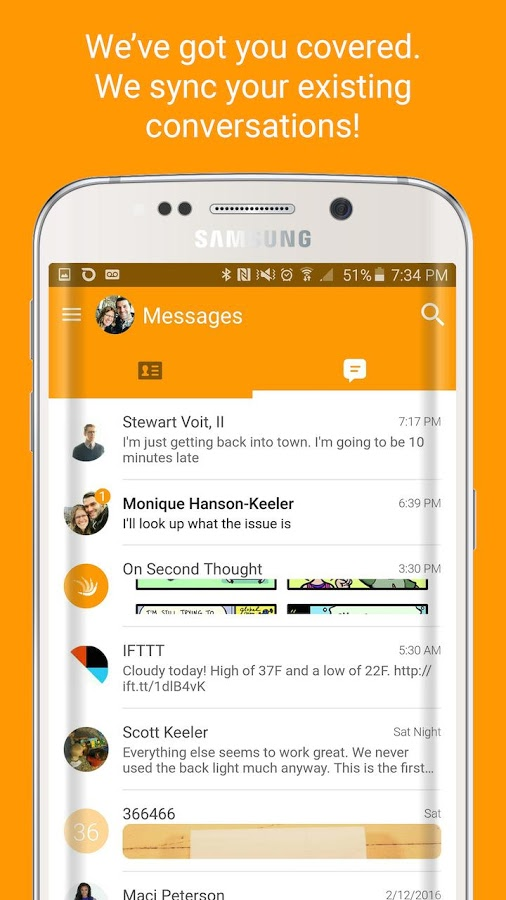 On Second Thought SMS v1.0.0.75 Full APK