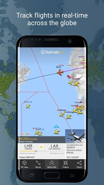 Flightradar24 Flight Tracker v7.6.1 Full APK