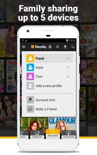 Readly - Digital Magazines v3.7.3 Full APK