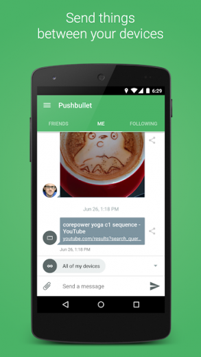 Pushbullet - SMS on PC v17.7.20 APK