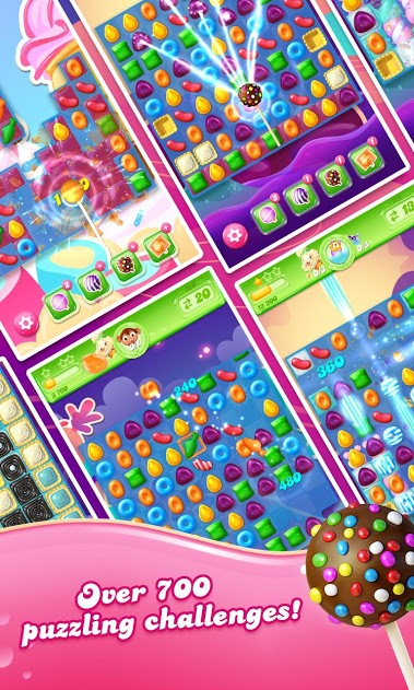 Candy Crush Jelly Saga v1.67.5 MOD Full APK