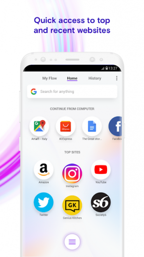 Opera Touch v1.6 Full APK
