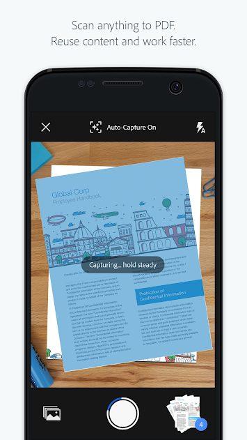 Adobe Scan PDF Scanner OCR v18.07.11 Full APK