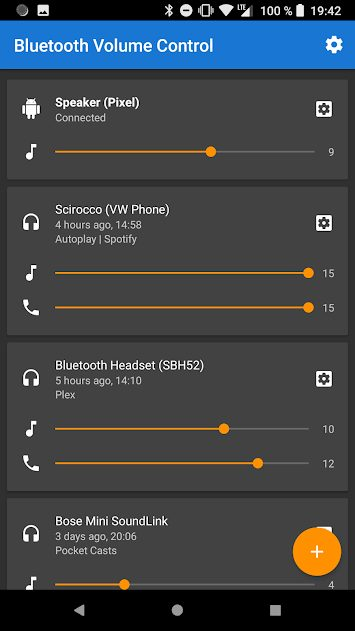 Bluetooth Volume Control v2.30 Pro Full APK