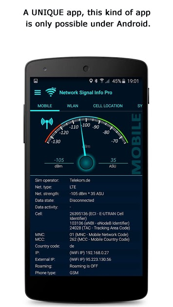 Network Signal Info Pro v4.76.04 Paid Full APK