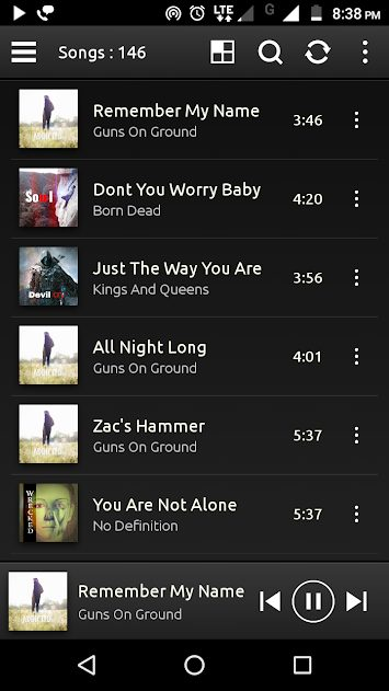PowerAudio Pro Music Player v5.0.5 Paid APK