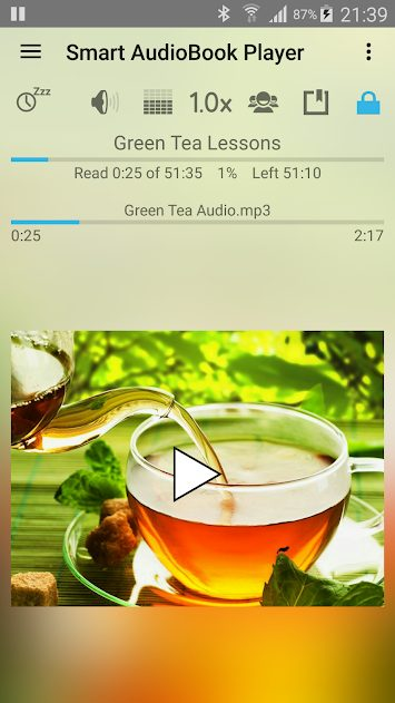 Smart AudioBook Player v3.9.4 Mod Full APK