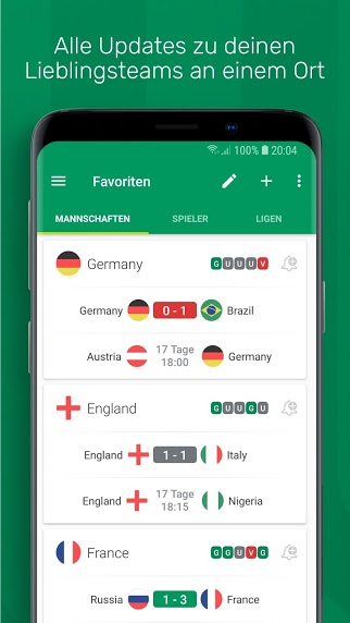 FotMob-Live Football Scores v2018815 Full APK