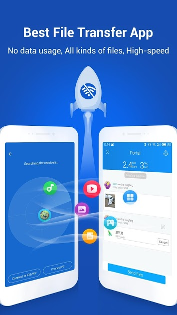 SHAREit Transfer & Share v4.5.28 Mod Full APK