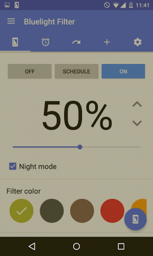 Bluelight Filter for Eye Care v2.9.20 Full APK