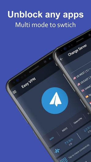 Easy VPN proxy master shield v1.5.0 Mod APK