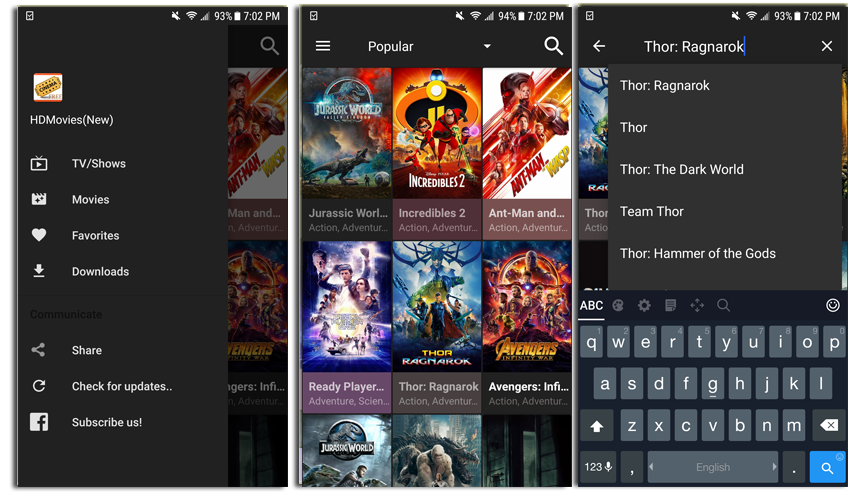 Cinema HD v1.2.9 Mod Lite Full APK