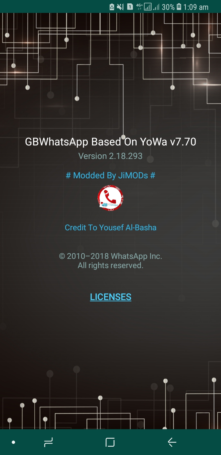WhatsApp Plus JiMODs v7.70 Jimtechs Editions