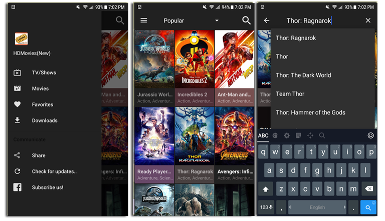 Cinema HD v1.3.8 Mod Full APK