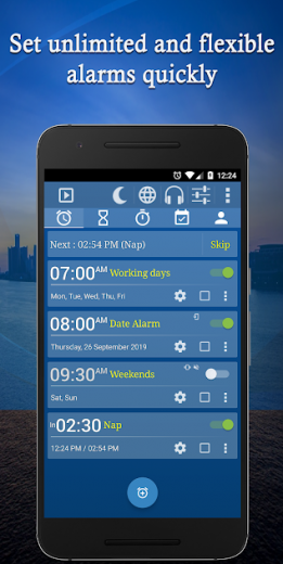 Alarm Clock v6.2 build 161 Full APK