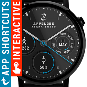 Ksana Sweep Watch Face v1 5 8 Full APK – [ Jimtechs biz ] JiMODs
