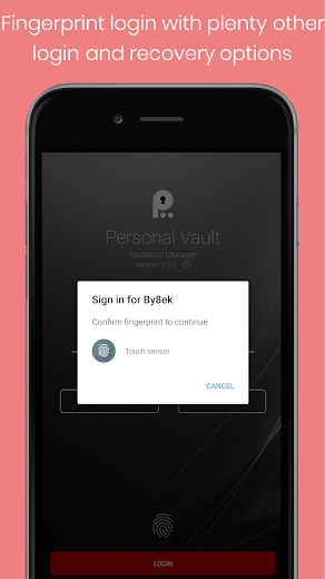 Personal Vault PRO Pass Manager v3.2.5 APK
