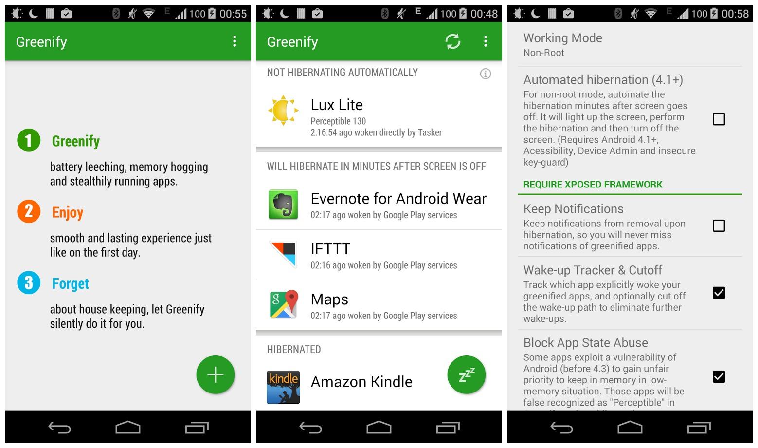 Greenify Donate v4.7 build 47000 Full APK