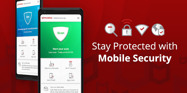McAfee Security Antivirus v5.3.0.484 Pro APK