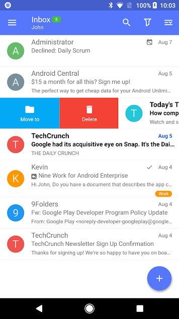 Nine – Email & Calendar v4.5.9 Full APK