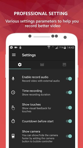 AZ Screen Recorder Pro No Root v5.3.0 APK