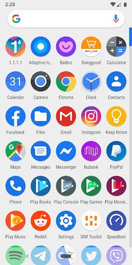 Adaptive Icon Pack v1.0.8 Patched Full APK