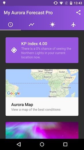 My Aurora Forecast Pro v2.1.1 Paid Full APK