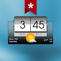 3D Flip Clock Weather v5.40.6 Paid APK