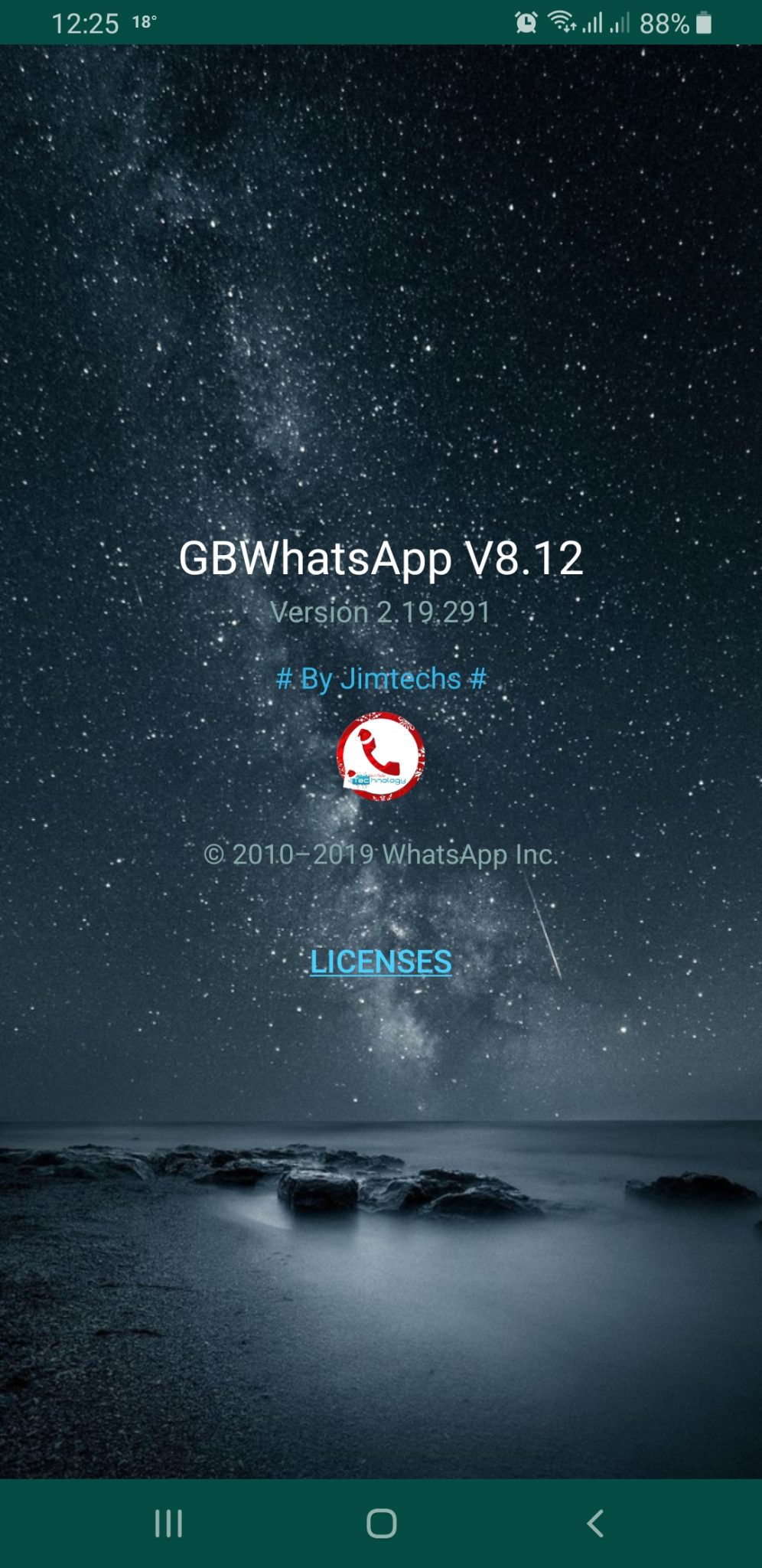 WhatsApp Plus JiMODs v8.12 Jimtechs Editions