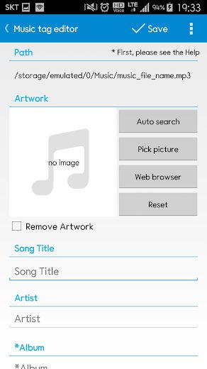 Star Music Tag Editor Pro v2.1.2 Full APK