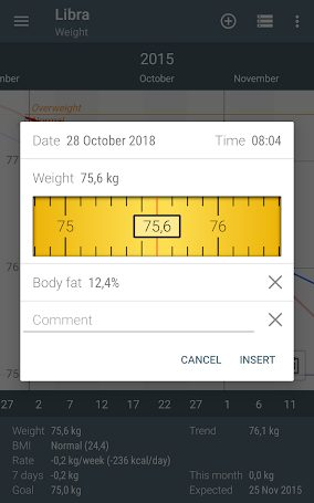 Libra Weight Manager Pro v3.3.33 APK