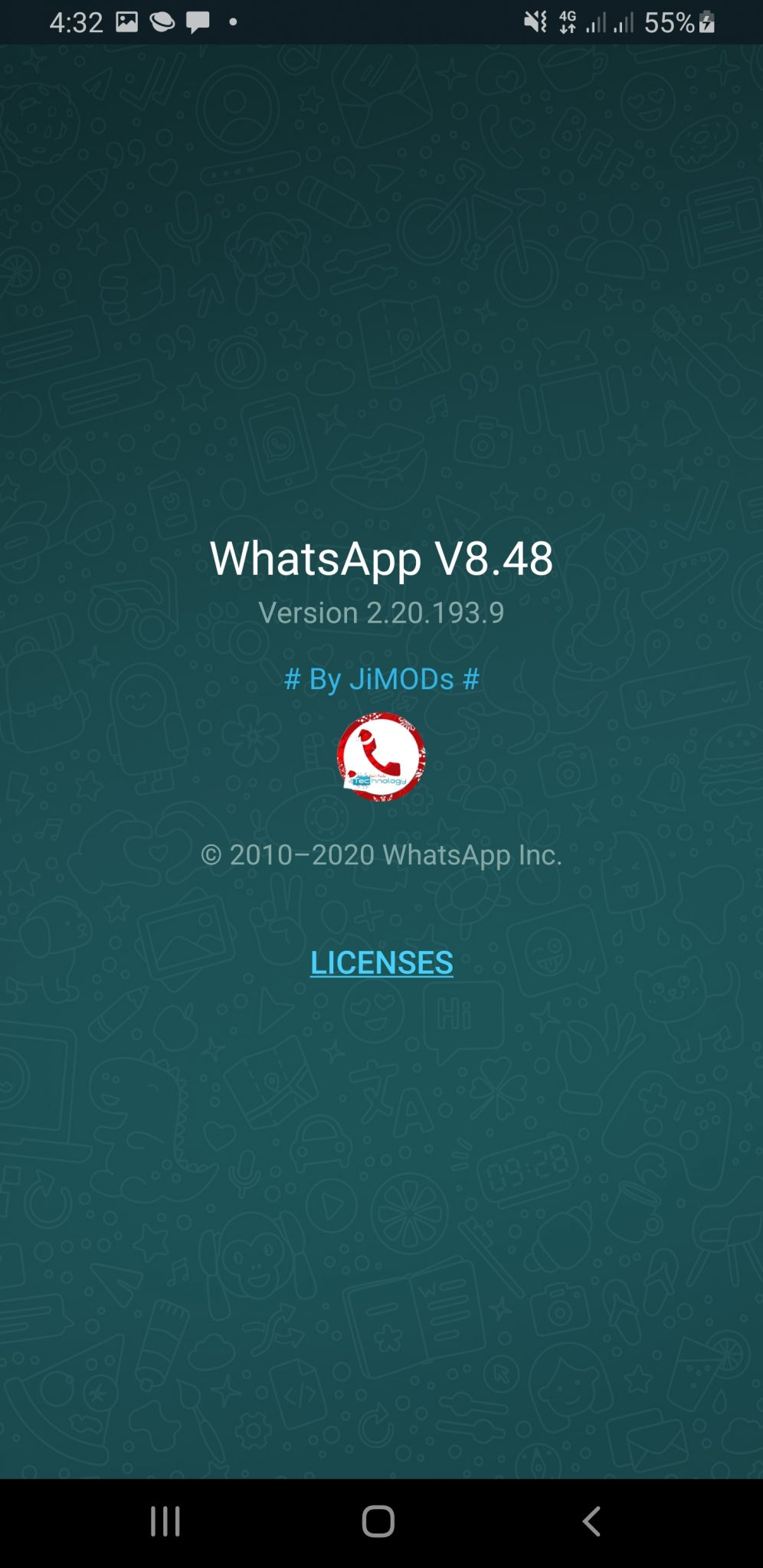WhatsApp+ JiMODs v8.48 Final Jimtechs Editions (Sorry for all the updates Today) 3