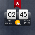 Sense Flip Clock Weather Ad-free v5.81.1.1 Paid APK